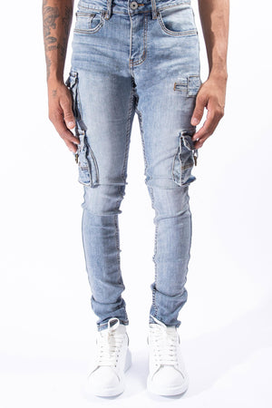 SERENEDE NWERTH New Earth Cargo Jeans  Designers Closet
