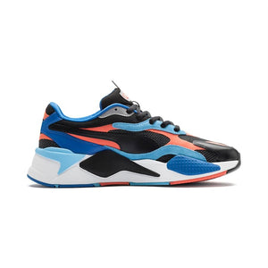 PUMA 37316902 RS-X LEVEL UP Black Hot Coral  Designers Closet