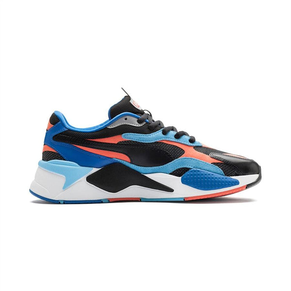 PUMA 37316902 RS-X LEVEL UP BLK/ HOT CORAL  Designers Closet