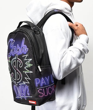 SPRAYGROUND B716 Cash Only Backpack  Designers Closet