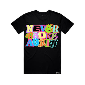NEVER BROKE Again TEAMTEE TEAM TSHIRT BLK / S Designers Closet