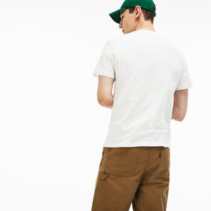 LACOSTE TH6386-51 Big Lacoste Emblem Tee  Designers Closet