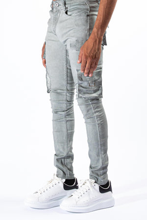 SERENEDE TMBW Timber Wolf Cargo Jeans  Designers Closet