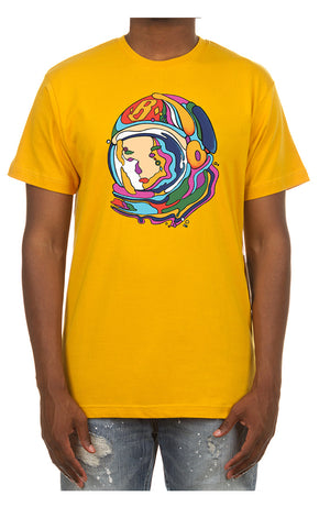 BBC 801-8207 BB Deep Thinker SS Tee YELLOW / S Designers Closet