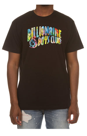 BBC 801-7201 BB Watercolor SS Tee BLK / S Designers Closet