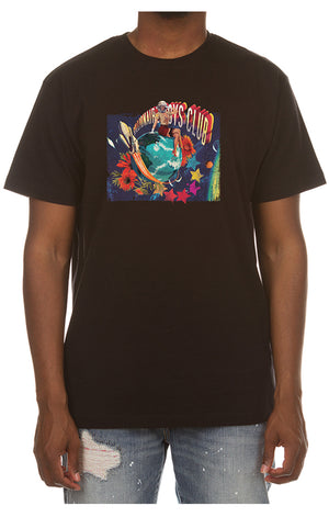 Billionaire Boys Club 801-1207 BB Pin Up SS TEE BLACK / S Designers Closet