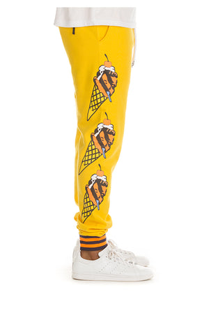 ICE CREAM 491-9102 Blackcomb Sweatpant SYLLW / S Designers Closet