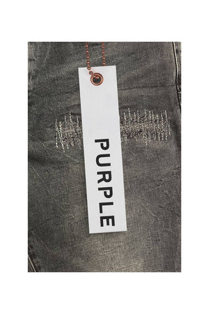 PURPLE BRAND P001-BRF Black Wash Reflective Repair  Designers Closet