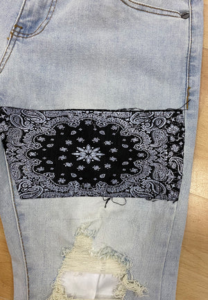 DENIMICITY DNM-300 PATCHWORK OF STars  Designers Closet