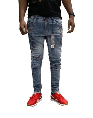 JORDAN CRAIG JM3430A Sean - Sugar Hill Denim AM / 28 Designers Closet
