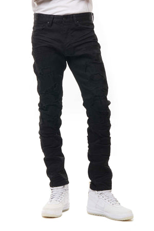 SMOKE RISE JP20132 Denim Pants JETBLK / 32 Designers Closet