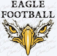 Eagle Football Head Vector Download JPG SVG PNG You will receive all 3 files