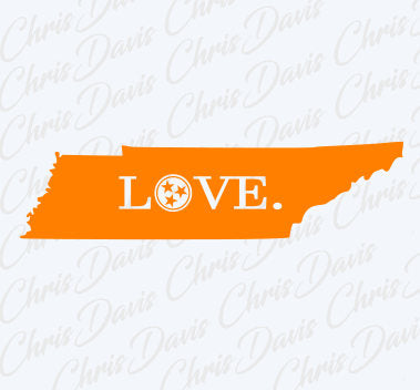 Tn Love State Tennessee Vector Download PNG SVG JPG You will receive all 3 Files.