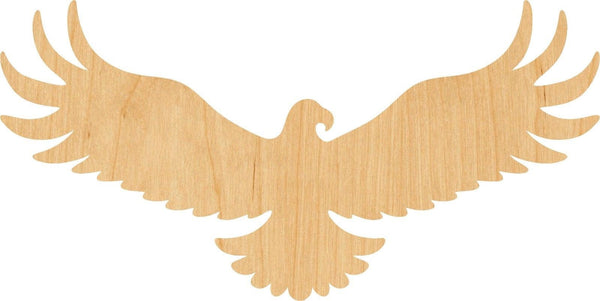 Eagle Wooden Laser Cut Out Shape - Great for Crafting - Hobbyist - D.I.Y. Projects