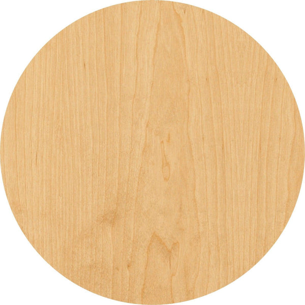 Circle Wooden Laser Cut Out Shape - Great for Crafting - Hobbyist - D.I.Y. Projects