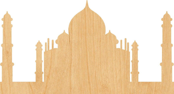 Taj Mahal Wooden Laser Cut Out Shape - Great for Crafting - Hobbyist - D.I.Y. Projects