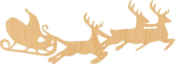 Santa Wooden Laser Cut Out Shape - Great for Crafting - Hobbyist - D.I.Y. Projects