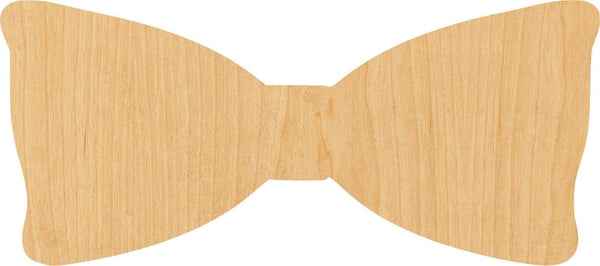 Bow Tie Wooden Laser Cut Out Shape - Great for Crafting - Hobbyist - D.I.Y. Projects