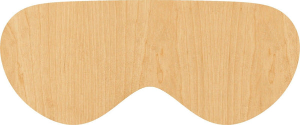 Eye Mask Wooden Laser Cut Out Shape - Great for Crafting - Hobbyist - D.I.Y. Projects
