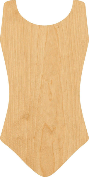 Leotard Wooden Laser Cut Out Shape - Great for Crafting - Hobbyist - D.I.Y. Projects