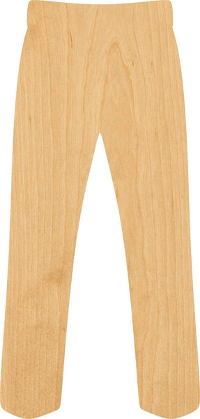 Pants Wooden Laser Cut Out Shape - Great for Crafting - Hobbyist - D.I.Y. Projects