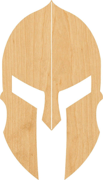 Spartan Wooden Laser Cut Out Shape - Great for Crafting - Hobbyist - D.I.Y. Projects
