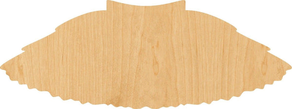 Tutu Wooden Laser Cut Out Shape - Great for Crafting - Hobbyist - D.I.Y. Projects