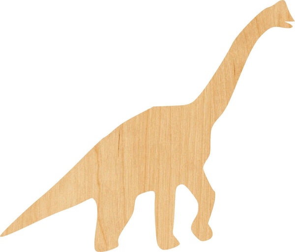 Diplodocus Wooden Laser Cut Out Shape - Great for Crafting - Hobbyist - D.I.Y. Projects