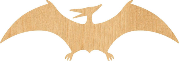 Pterodactyl Wooden Laser DragonCut Out Shape - Great for Crafting - Hobbyist - D.I.Y. Projects