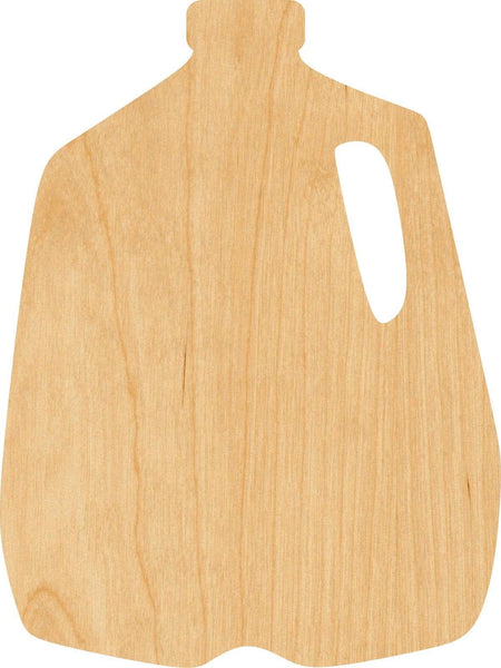 Milk Jug Wooden Laser Cut Out Shape - Great for Crafting - Hobbyist - D.I.Y. Projects