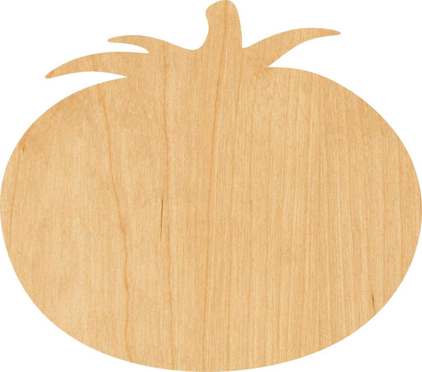 Tomato Wooden Laser Cut Out Shape - Great for Crafting - Hobbyist - D.I.Y. Projects