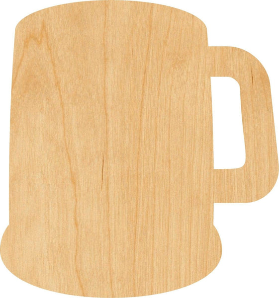 Beer Mug Wooden Laser Cut Out Shape - Great for Crafting - Hobbyist - D.I.Y. Projects