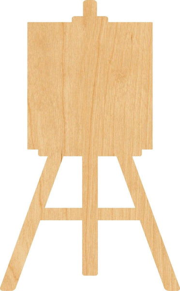 Easel Wooden Laser Cut Out Shape - Great for Crafting - Hobbyist - D.I.Y. Projects