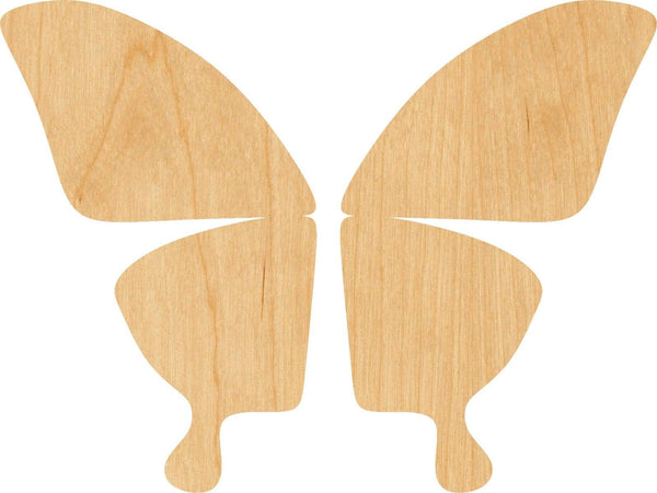 Butterfly Wing Wooden Laser Cut Out Shape - Great for Crafting - Hobbyist - D.I.Y. Projects