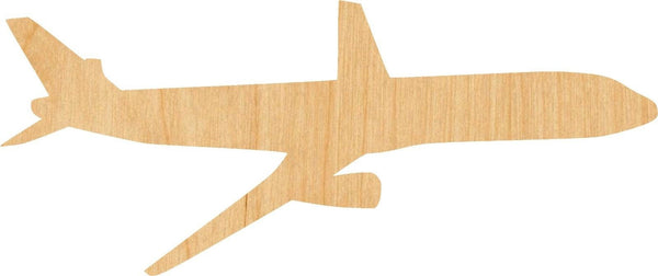 Airplane Wooden Laser Cut Out Shape - Great for Crafting - Hobbyist - D.I.Y. Projects