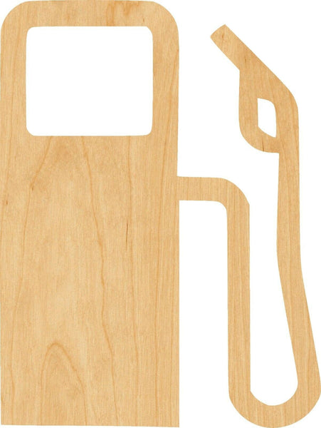Gas Pump Wooden Laser Cut Out Shape - Great for Crafting - Hobbyist - D.I.Y. Projects