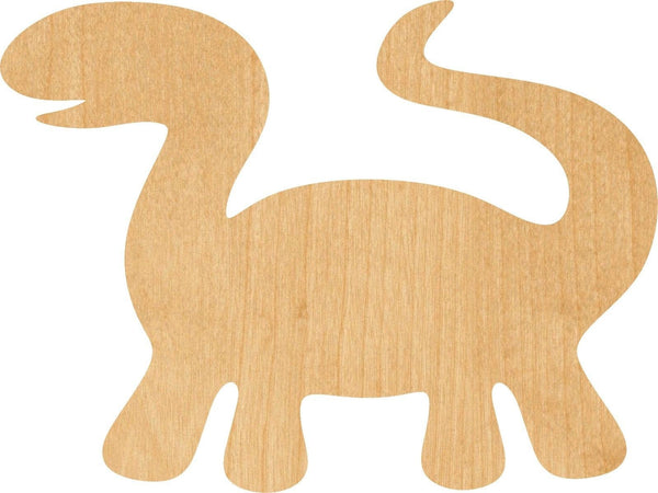 Dinosaur Wooden Laser Cut Out Shape - Great for Crafting - Hobbyist - D.I.Y. Projects