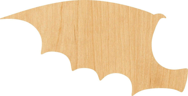 Dragon Wing Pick Wooden Laser Cut Out Shape - Great for Crafting - Hobbyist - D.I.Y. Projects