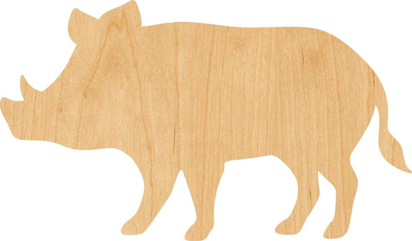 Boar Wooden Laser Cut Out Shape - Great for Crafting - Hobbyist - D.I.Y. Projects