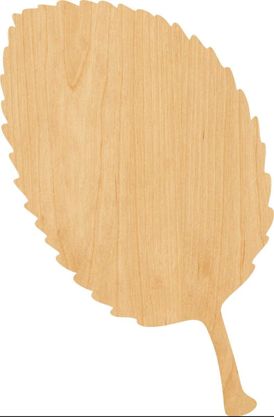 Apple Leaf Wooden Laser Cut Out Shape - Great for Crafting - Hobbyist - D.I.Y. Projects