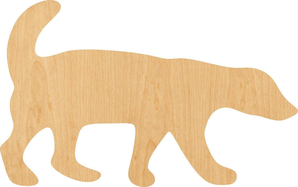 Honey Badger Wooden Laser Cut Out Shape - Great for Crafting - Hobbyist - D.I.Y. Projects
