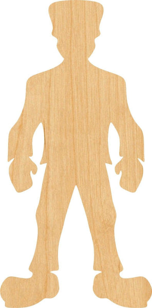 Frankenstein Wooden Laser Cut Out Shape - Great for Crafting - Hobbyist - D.I.Y. Projects