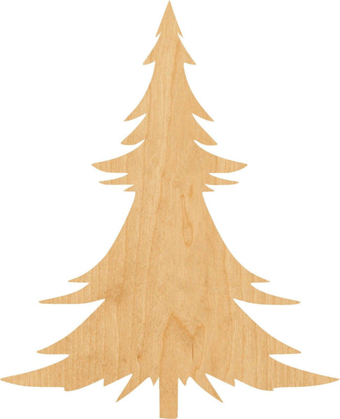 Christmas Tree Wooden Laser Cut Out Shape - Great for Crafting - Hobbyist - D.I.Y. Projects
