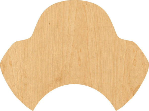 Pirate Hat Wooden Laser Cut Out Shape - Great for Crafting - Hobbyist - D.I.Y. Projects