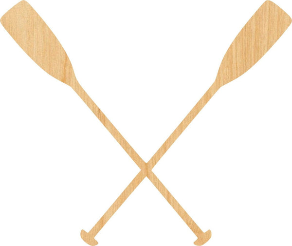 Boat Oars Wooden Laser Cut Out Shape - Great for Crafting - Hobbyist - D.I.Y. Projects