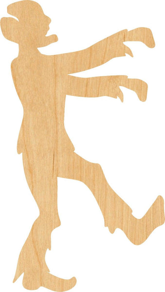 Zombie Wooden Laser Cut Out Shape - Great for Crafting - Hobbyist - D.I.Y. Projects