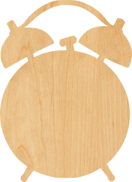 Alarm Clock Wooden Laser Cut Out Shape - Great for Crafting - Hobbyist - D.I.Y. Projects