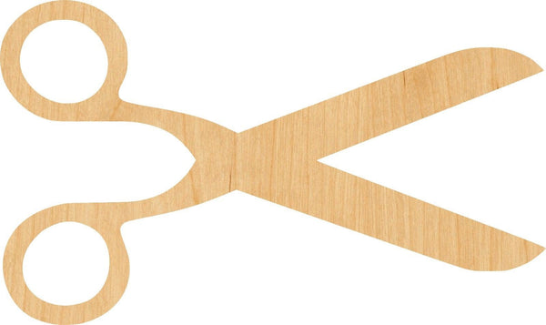 Scissors 2 Wooden Laser Cut Out Shape - Great for Crafting - Hobbyist - D.I.Y. Projects