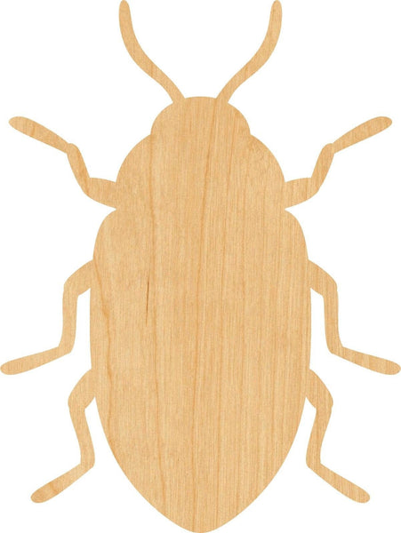 Beetle Wooden Laser Cut Out Shape - Great for Crafting - Hobbyist - D.I.Y. Projects