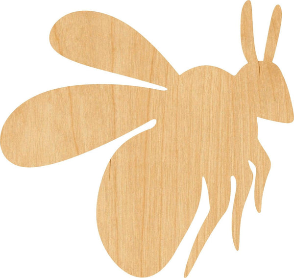 Bumble Bee Wooden Laser Cut Out Shape - Great for Crafting - Hobbyist - D.I.Y. Projects
